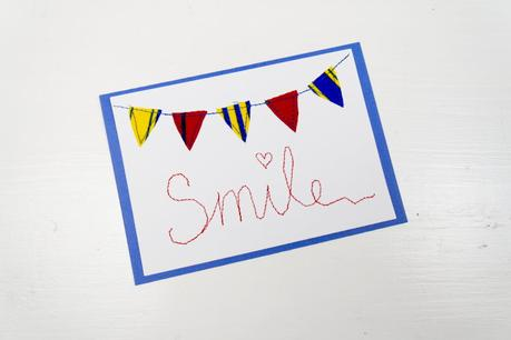 DIY auf papier nähen, kann man, wie näht man auf papier, geburtstagskarten, selbst, selber, machen, ideen,