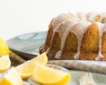 Zitronen-Mohn-Polentakuchen - Happy Birthday!  Sarahs Knusperstübchen wird 2