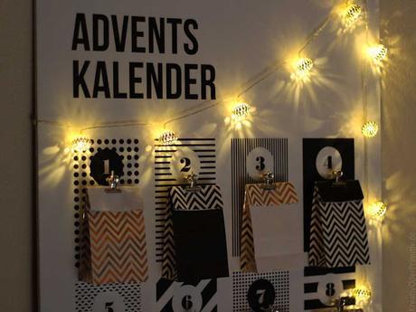 Schlichter Adventskalender