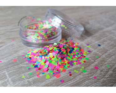 Mixed Nail Art Glitter – Colorful Mini Paillette*