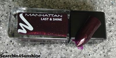 [Nails] MANHATTAN LAST & SHINE 760 MOSCOW NIGHT