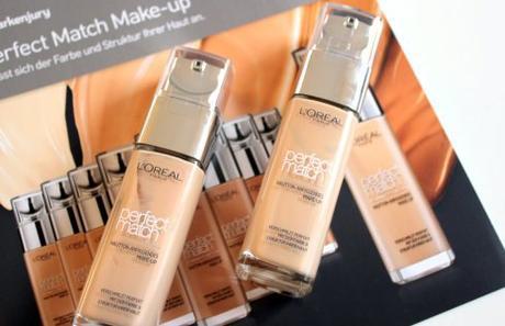 Perfect Match Make-up von L'Oréal – Make-up, das mit der Haut verschmilzt?