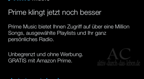 PrimeMusic – Das neue Feature von Amazon Prime