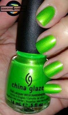 [Nails] Sunday ... Nails mit china glaze 1089 I'M WITH THE LIFEGUARD