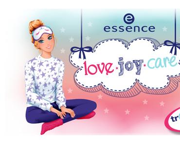 """essence trend edition """"love.joy.care"""""""