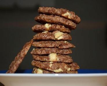 Schokoladenkekse mit Nüssen vegan