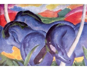 Auf blauen Pferden in den Großen Krieg