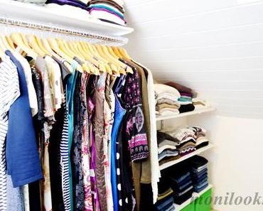 Begehbarer Kleiderschrank – ein DIY Projekt nach Maß