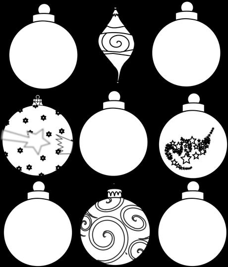Weihnachts- und Adventsbilder zum Ausdrucken oder Ausmalen (Teil 3)