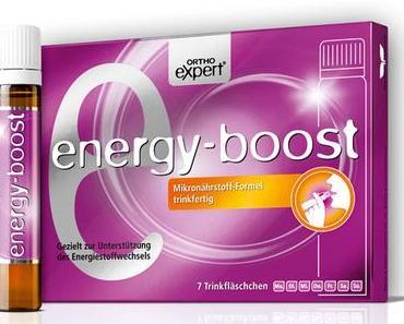 Ortho-expert energy boost - ein extra Kick Energie