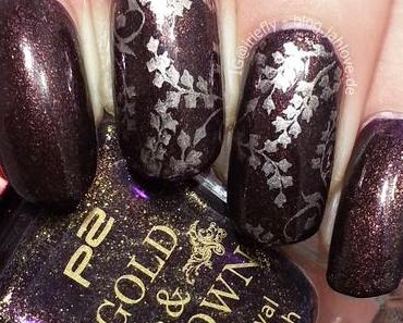 "[Nails] P2 - Gold & Crown ""040 Purple Charism"" - die Zweite!"