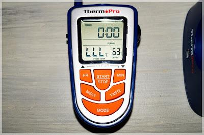 thermopro wireless bbq funkthermometer mit eingebautem timer im test. Black Bedroom Furniture Sets. Home Design Ideas
