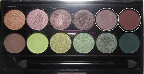 LOOK | Sleek Garden Of Eden Palette #4