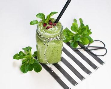Grüne Feldsalat Smoothie - Salatvariation die Erste: