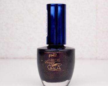 "[NOTD] P2 ""Fabulous Beauty Gala"" Limited Edition sweet addiction nail polish 020 ""alluring black""*"