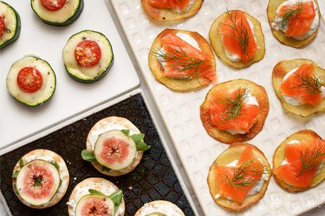 Canapés à la James Bond