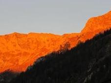 Bild Woche: Alpenglühen Seeberg
