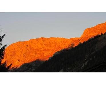 Bild der Woche: Alpenglühen am Seeberg