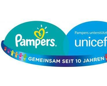 Pampers und UNICEF: Windeln kaufen und Leben retten