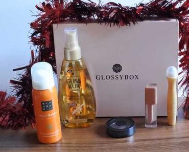 Glossybox goldene 20er November