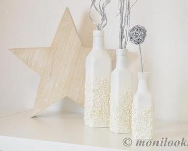 DIY Deko – winterliche Vasen selbstgemacht
