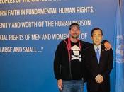 besucht Länder gleichzeitig Eine Führung durch UN-Hauptquartier