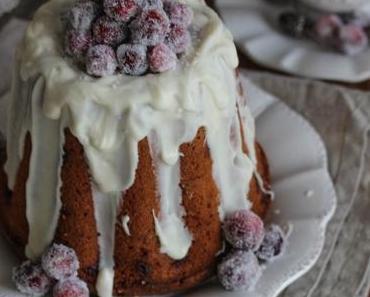 Cranberry Gugel mit weißer Schokolade