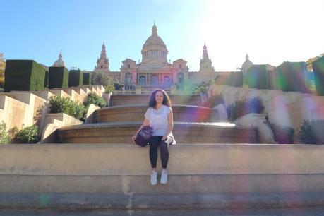 Stoffläden in Barcelona