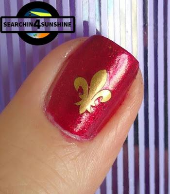 [Nails] Sunday ... Nails mit trend IT UP Sparkling Glamour  010 und miss sporty 312
