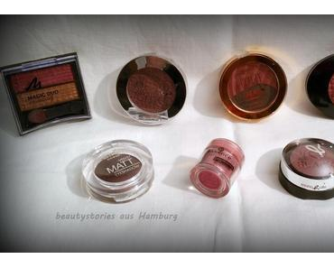 [Blogparade] 7 Shades of...... RED! - Lidschatten