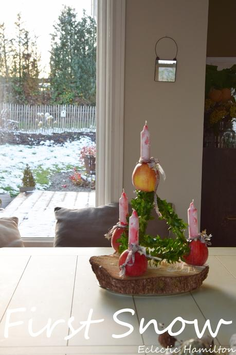 Paradeisel: der traditionelle DIY Adventskranz