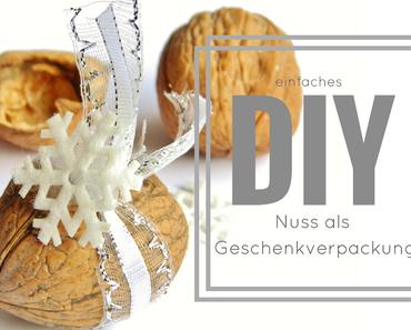 DIY - NUSS ALS GESCHENKVERPACKUNG