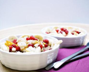 Paleo Oatmeal mit Früchten