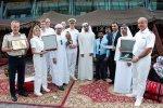 Premiere in Abu Dhabi: AIDAstella macht erstmals am neuen Cruise Terminal fest