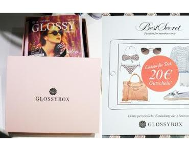 [Unboxing] Glossybox vom August 2015 - La Dolce Vita Edition