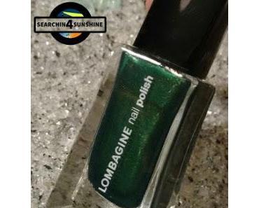 [Nails] #nailsreloadedchallenge - geometrisch mit LOMBAGINE 13 x-mas green