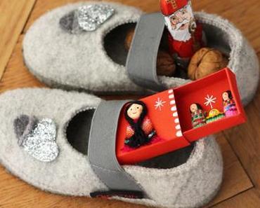 Claires Nikolausschuh und Gewinner