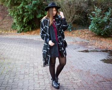 Wie man Kleider im Winter trägt
