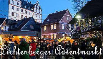 Unterwegs auf dem Lichtenberger Adventmarkt