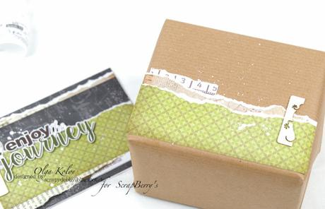 Inspiration by ScrapBerry's - Greeting Card