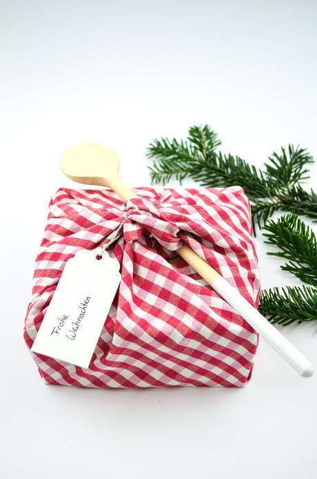 DIY Weihnachtliche Geschenkverpackung für Gourmets