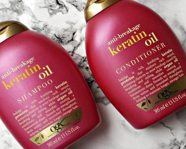 Organix Anti-Breakage Keratin Oil Shampoo + Conditioner