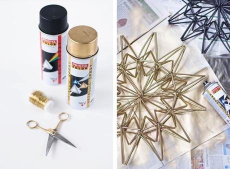 diy weihnachtsstern aus trinkhalmen. Black Bedroom Furniture Sets. Home Design Ideas