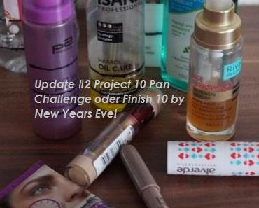 Update #2 Project 10 Pan Challenge oder Finish 10 by New Years Eve!
