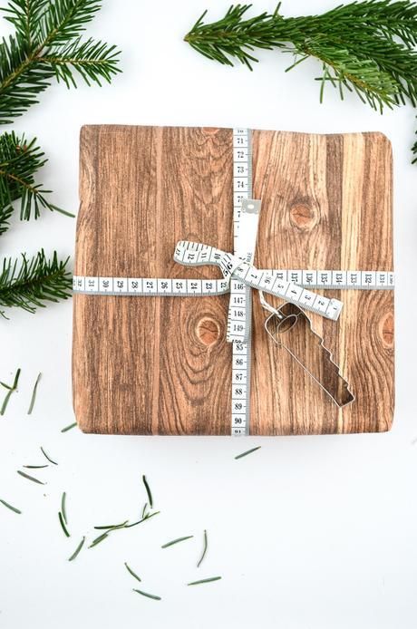 DIY Weihnachtliche Geschenkverpackung für Bastler