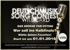 Deutschmusik Song Contest 2016 – Das grosse Fan-Voting