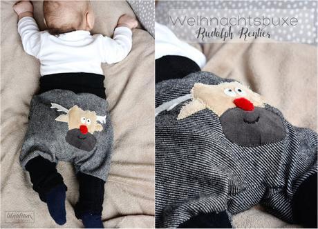 Rudolph Rentier Babyhose - Freebook