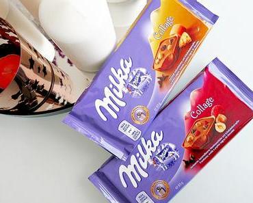 Milka-News #13 :: Milka Collage Himbeere / Karamell