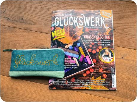 Glückswerk, das DIY Magazin– ein echter Glücksgriff im Zeitschriftenregal!