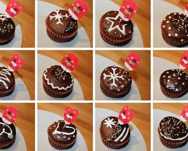 Weihnachtszauber ☃ Adventsmuffins mit Überraschung